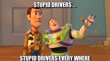 cyclophobes and stupid drivers