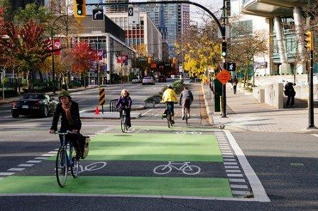 Separated bike lanes - Paul Krueger
