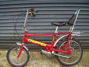 Iconic Chopper Bike designed by Alan Oakley