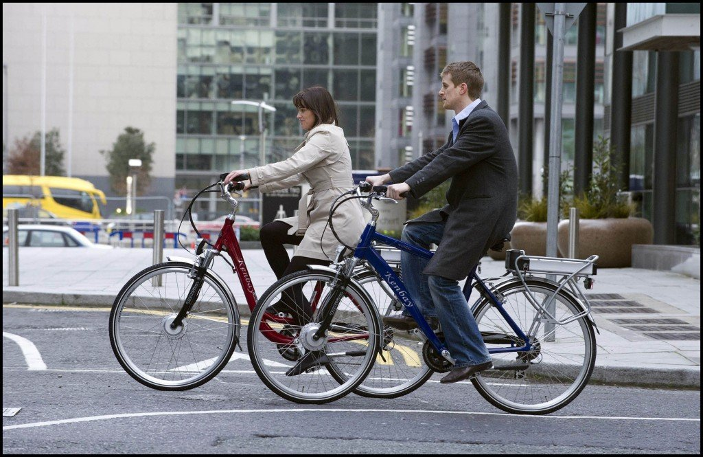 Kenbay Electric Bikes get you to work looking and feeling great