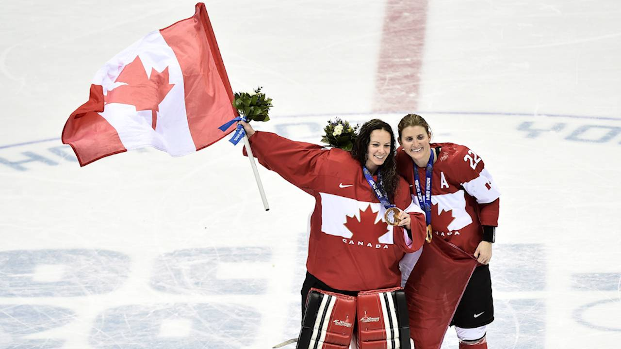 Canadian womens hockey team wins gold