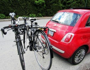 Average Joe Cylist Tricross and BH bike of Fiat 500 2