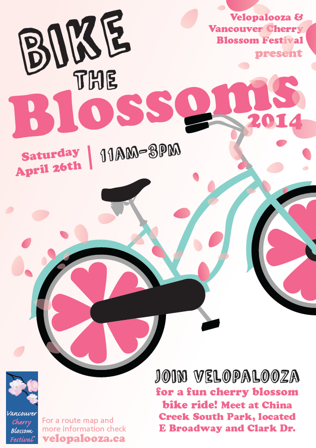 Bike the Blossoms Ride in Vancouver - Average Joe Cyclist