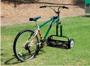 Average Joe Cyclist and Green Renaissance - mowercycle