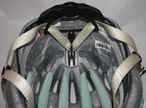 Standard adjustable cradle system in Bontrager helmet - Average Joe Cyclist