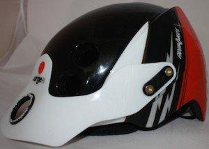 Urge Endur-O-Matic Helmet Front and Side - Average Joe Cyclist