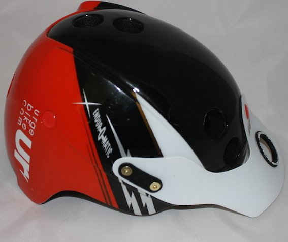 Urge Endur-O-Matic Helmet Side and Front 4 - Average Joe Cyclist