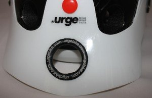 Urge Endur-O-Matic Helmet Visor with Giant Hole - Average Joe Cyclist