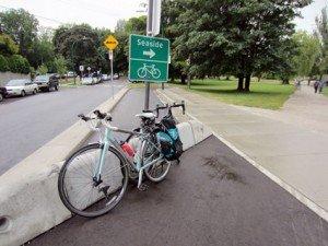 Seaside Greenway End of Trail - Average Joe Cyclist