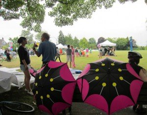 Seaside Greenway Umbrellas - Average Joe Cyclist