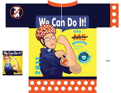 We can do it - bike MS