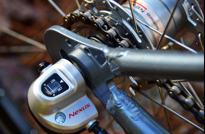 Front Hub Engine on Pedal Easy bike