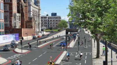 Bike super-highways-London