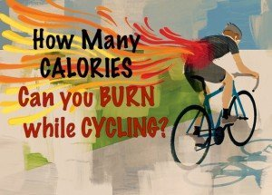 calories burned cycling