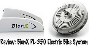 BionX electric bike kit - review of PL350 BionX