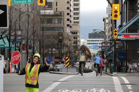 Hornby Bike Lane is OPEN!