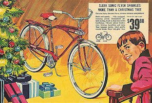 Christmas and Bicycles