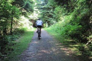 Springboard Trail in Belcarra Park: For Seriously Fit Cyclists, or for Those who Seriously Want to be Fit