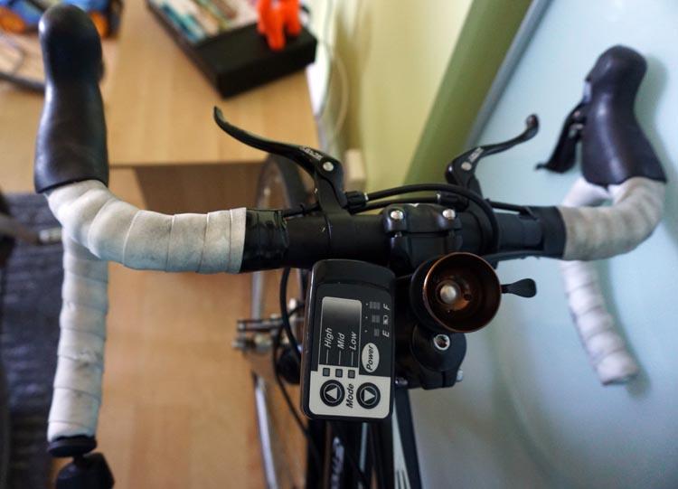 Panasonic BH Race bike consol
