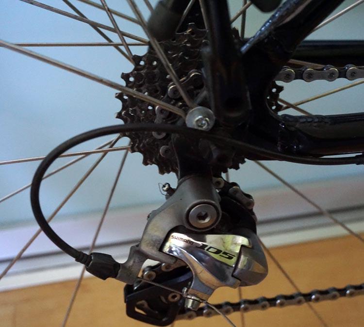 Panasonic BH Race bike rear wheel