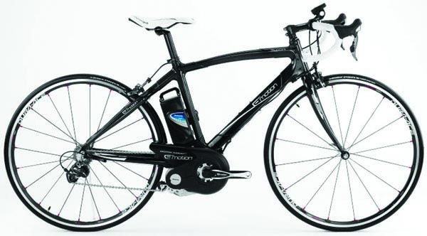 The BH Emotion race bike with Panasonic motor is an exceptionally good looking bike