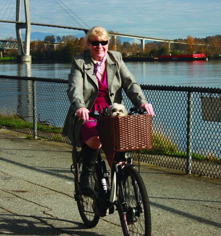 Maggie finds sheer joy riding her electric bike - she doesn't have to drive or use transit, but she can still get around with a combination of muscle and electricity. 15 Reasons to Get an Electric Bike