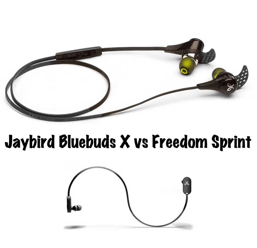 JayBird BlueBuds X vs Freedom Sprint