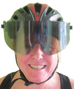 Wide-Eyez Bike Helmet Shield – Review by Average Joe Cyclist