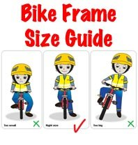 Choosing a Bike Gift? Choose the Right Bike Frame Size with this ...