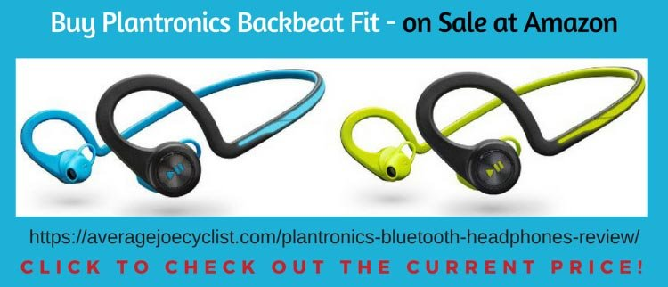 Best Bluetooth headphones for cyclists - Plantronics