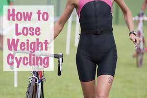 how to lose weight cycling how long