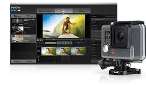 The GoPro Hero has two sets of free software: GoPro Connect and GoPro Studio
