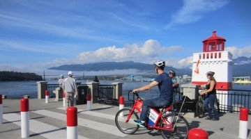 Vancouver Cycling #5 – Stanley Park Seawall – Guide plus Video