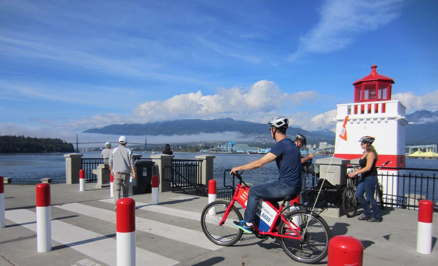 Vancouver Cycling #5 - Stanley Park Seawall - Guide plus Video