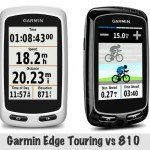 Garmin Edge Touring vs 810 Bike Computers