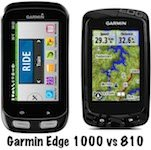Garmin Edge 1000 vs 810