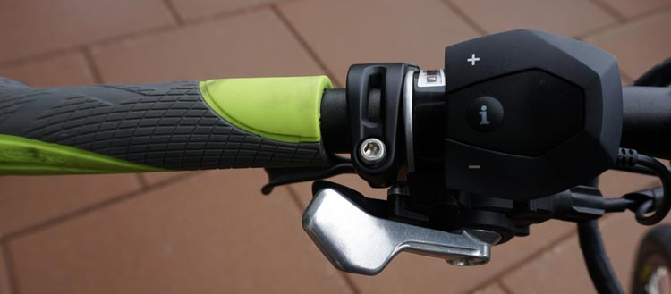 Haibike Xduro Trekking Pro Review. The gears on the Haibike Xduro Trekking Pro are controlled with simple trigger operations on the left and right sides of the handlebars