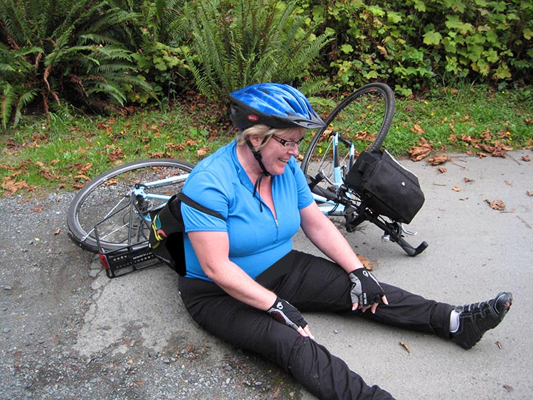 You don't have to clip into your pedals if that makes you uncomfortable -