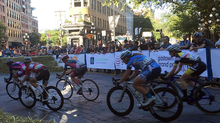 Gastown Grand Prix Women's Race won by Oldest Cyclist in the Field