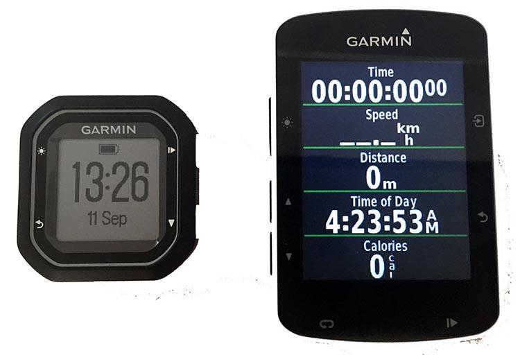 Garmin Edge 520 vs 25