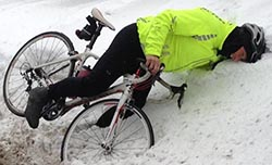 How to Cycle Safely in the Winter