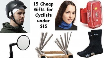 15 Cheap Gifts for Cyclists Under $15