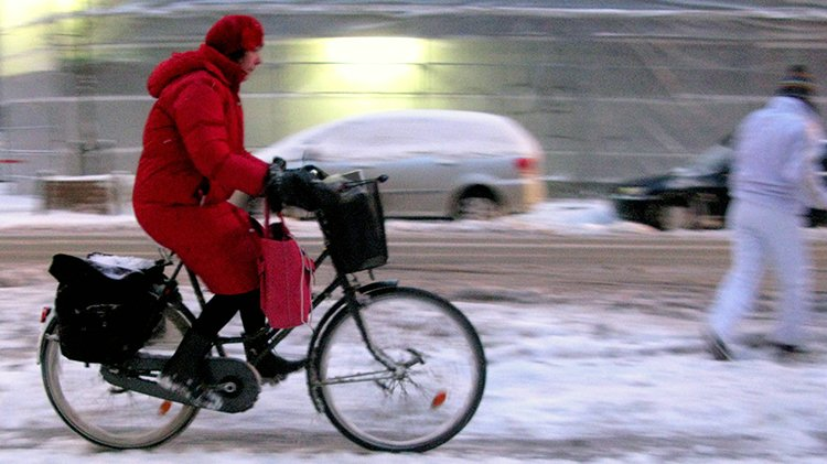 Winter cycling is possible and can be great fun! Photo from Colville-Andersen's Flickr stream. Our Best Posts about Winter Cycling