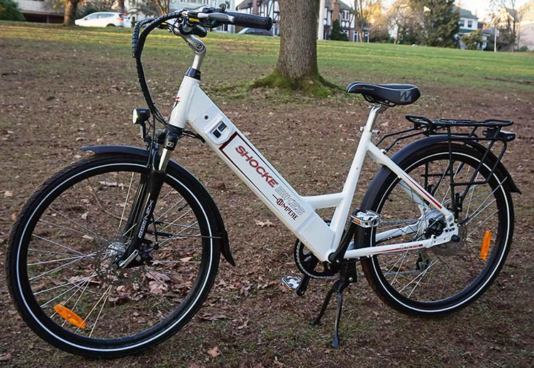 A Guide for Fat Cyclists. This Ampere Electric Bike is strong 5bfc5c488
