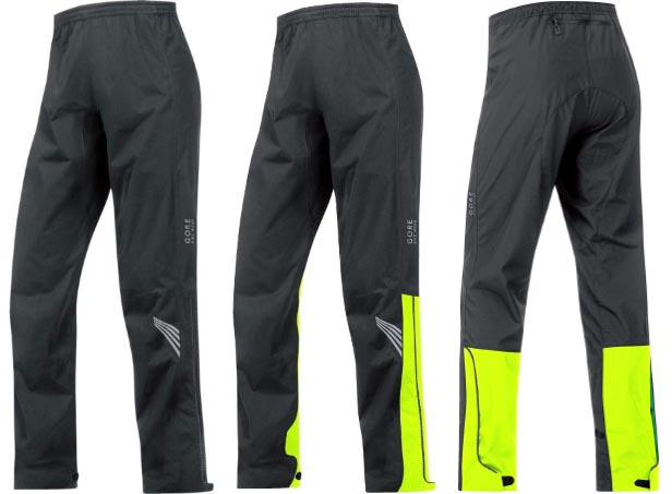 Gore Bike Wear Element Gore-Tex Active Pants with and without the yellow  strip. 94df48eb4