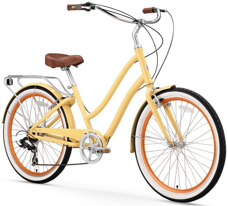 590f7e56227 This EVRYjourney bike offers amazingly good value in a great looking  classic cruiser with integrated components