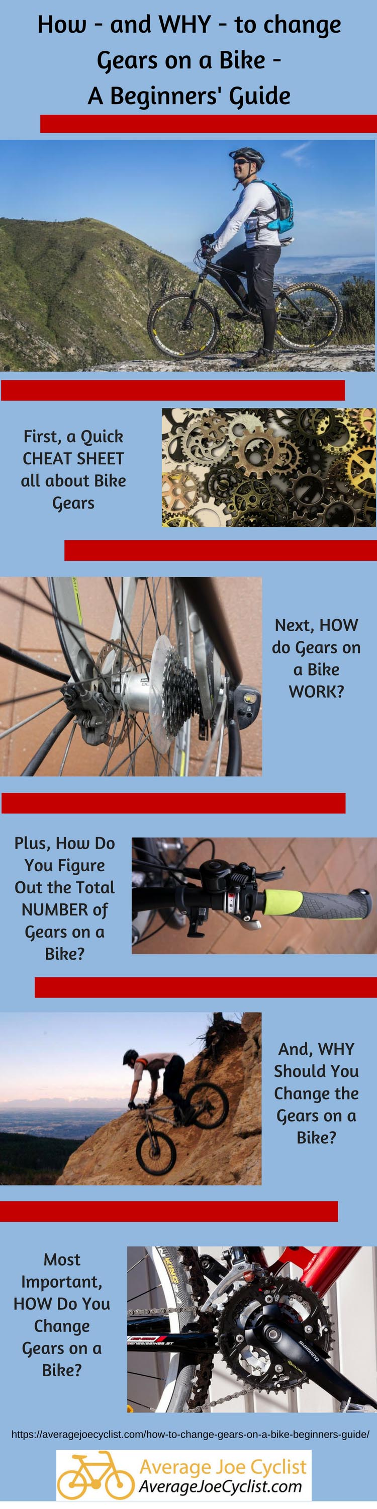 How to Change Gears on a Bike - Beginners Guide