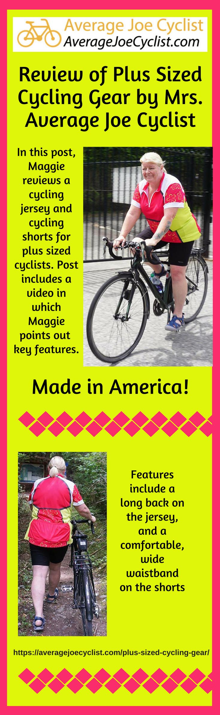 Review of Plus Sized Cycling Gear by Mrs. Average Joe Cyclist 9abfef5bc