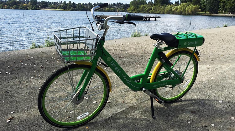 Lime Bikes and Scooters for Shared Transport Options