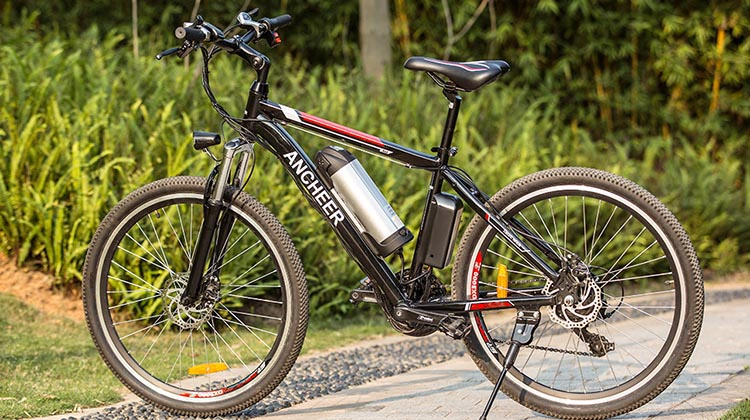 9 of the Best Cheap Electric Bikes. The Ancheer ebike looks like a regular bike